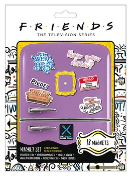 Friends Magnets 18 Piece Large Magnet Set