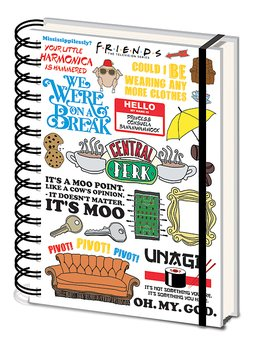 Friends 10 Inch Notebook