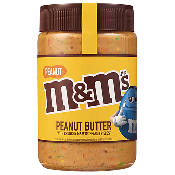 M&M Peanut Butter Spread With M&M Peanut Pieces