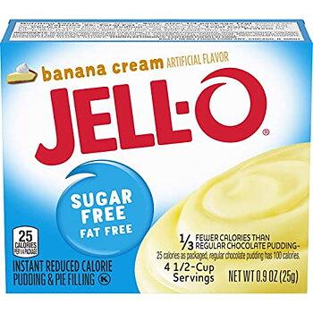 Jell-O Sugar Free Banana Creme