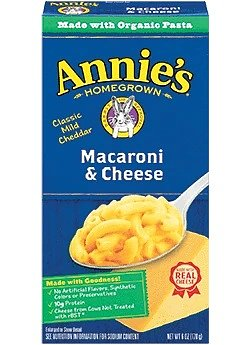 Annie's Homegrown Classic Cheddar Mac & Cheese (Made with Organic Pasta)