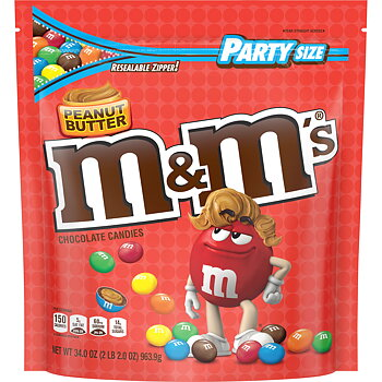 M&M Peanut Butter Huge Party Size