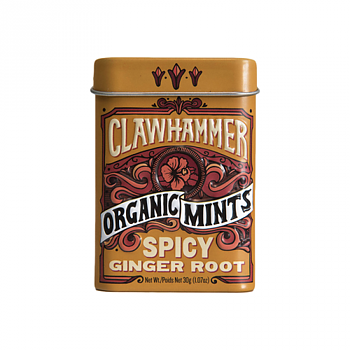 Clawhammer Spicy Ginger Root Organic Mints