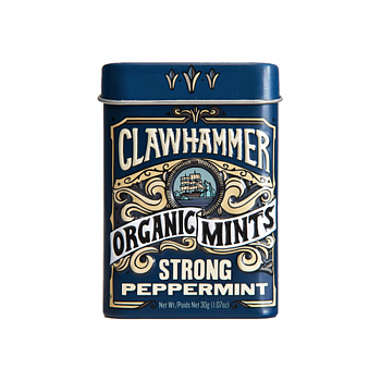 Clawhammer Strong Peppermint Organic Mints