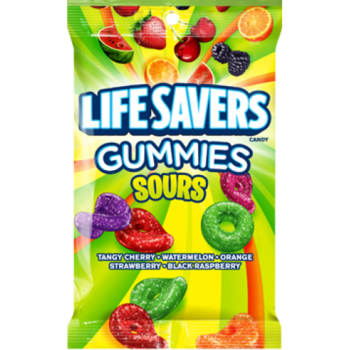 LIFE SAVERS Gummies Sours Peg Bag