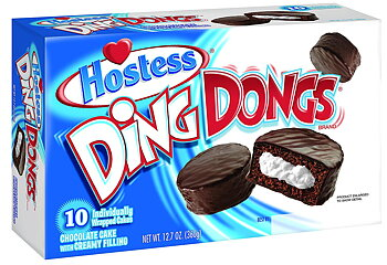 Hostess Ding Dongs 10 Pack