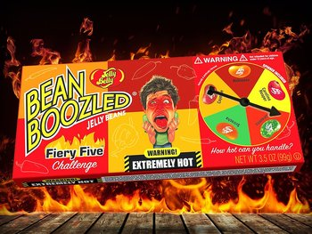 Jelly Belly® BeanBoozled Flaming Five Flavor Spinner