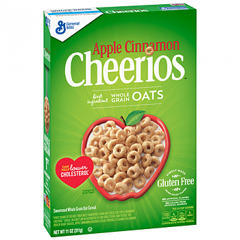 Apple Cinnamon Cheerios Cereal (Gluten Free)