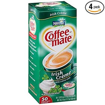 Coffeemate Creamers Irish Coffee Liquid Creamer (50 Servings)