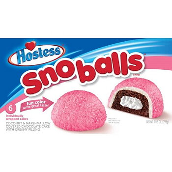 Hostess Snoballs Case