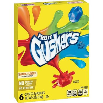 Fruit Gushers Tropical Flavors