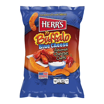 Herrs Blue Cheese Cheese Curls
