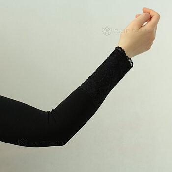 Sleeve - Jersey Lace - Svart