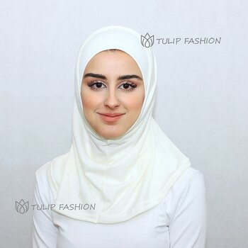 Hijab Al Amira - Off White