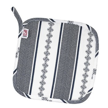 Shyness Potholder Bolster White/Navy