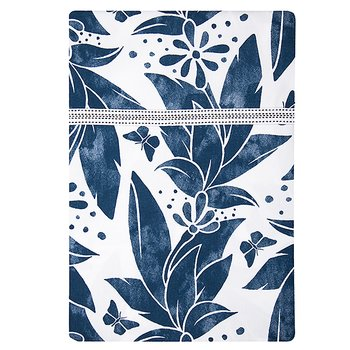 Shyness Duvet Butterfly White/Navy
