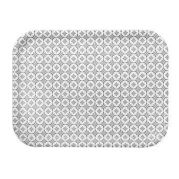 Shyness Tray Destiny 27*20 cm White/Grey