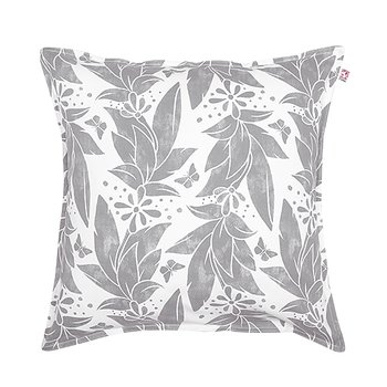 Shyness Cushion Butterfly White/Grey