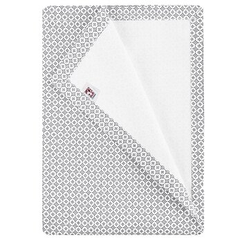 Shyness Table Cloth Destiny White/Grey