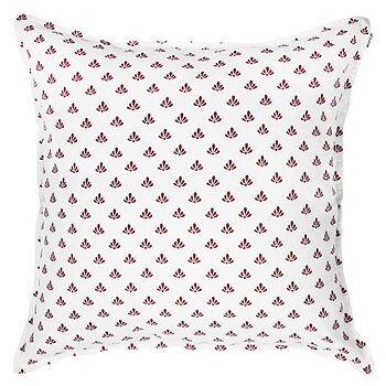 Shyness Cushion Lily White/Red