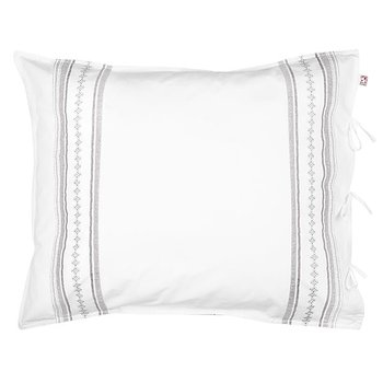 Shyness Pillow Case Bolster Grey/White