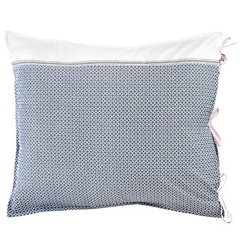 Shyness Pillow Case Destiny White/Navy