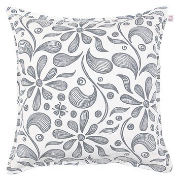 Shyness Cushion Bliss White/Grey