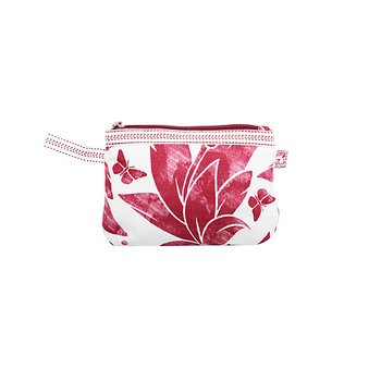 Shyness Cosmetic case Butterfly S White/Red