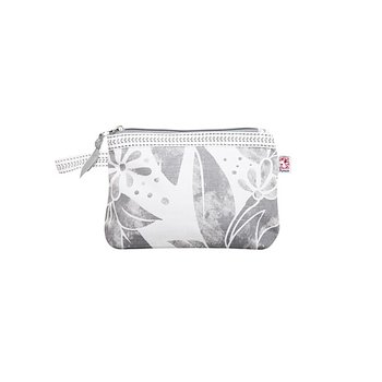 Shyness Cosmetic case Butterfly S White/Grey