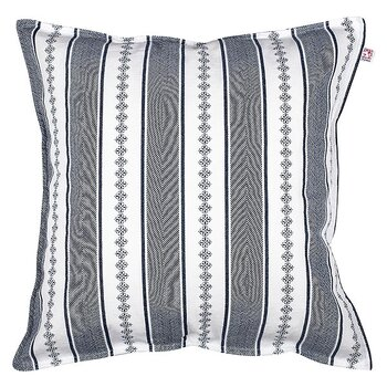 Shyness Cushion Bolster White/Navy