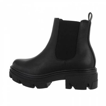 HEAVY CHELSEA BOOTS BLACK