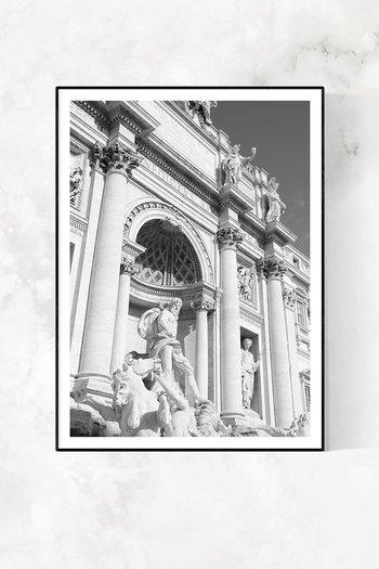 ROME EDIT / FONTANA DI TREVI SKY