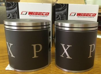 Complete set of XP pistons 74.5 mm - 953 cc