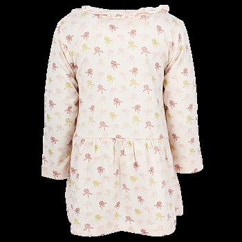 EN FANT - Aprikos långärmad klänning