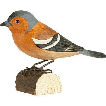 Handsnidade fåglar i trä - DecoBirds