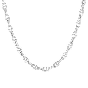 Victory chain neck 45 cm silver