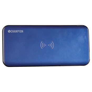 Champion PowerBank QI 8000 mAh Blå