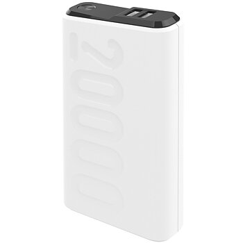 Celly PD18W -  20.000 mAh Powerbank med USB-C PD  - Vit