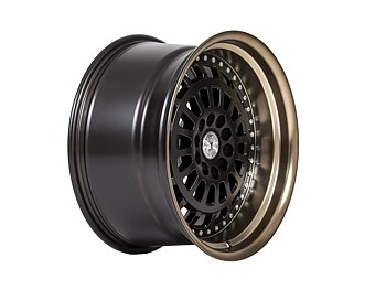 "59°North Wheels D-007 9,5x18"" ET20 5x114/5x120 Matteblack/bronzelip"