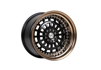 "59°North Wheels D-007 11x18"" ET15 5x114/5x120 Matteblack/bronzelip"