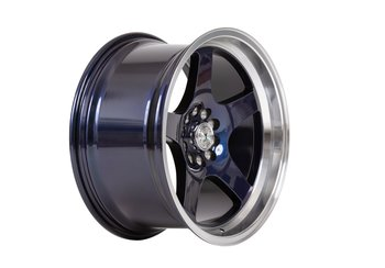"59°North Wheels D-004 9,5x18"" ET20 5x114/5x120  Blurple/polished lip"