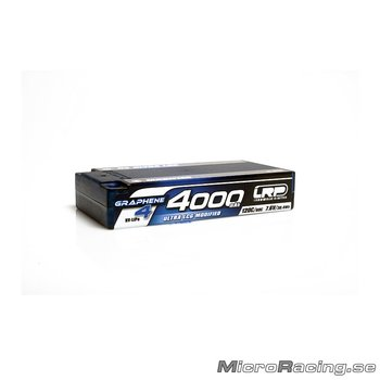 LRP - HV Ultra LCG Modified Shorty GRAPHENE-4  4000mAh Hardcase battery - 7.6V LiPo - 120C/60C