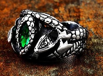 Ring of Barahir  - Rostfritt Stål