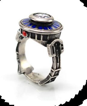 Droid Ring i Stål