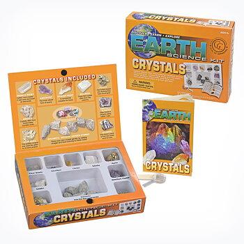 Lær om Krystaller - Utforskersett