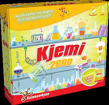 Kjemisett 2000 (150 eksperiment), Norsk