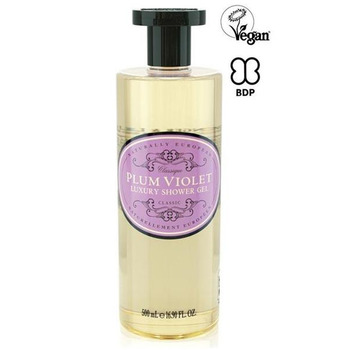 Naturally European Plum Violet Luxury Shower gel