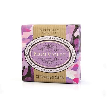 Naturally European Plum Violet Soap