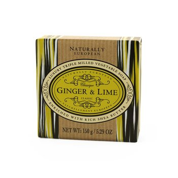 Naturally European Ginger Lime Soap