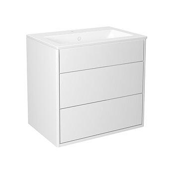 Tvättställsskåp Med Handfat Gustavsberg Gustavsberg Graphic Vit 60 cm